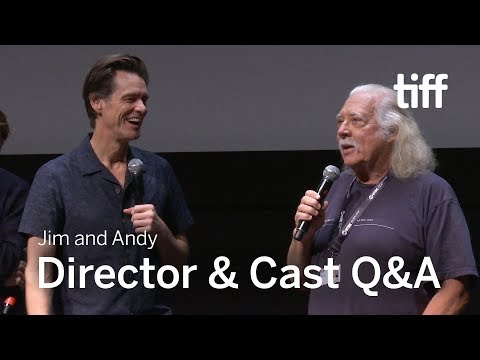 JIM AND ANDY Director and Cast Q&A | TIFF 2017