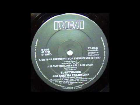 Eurythmics & Aretha Franklin - Sisters Are Doin' It Themselves ( ET Mix by Eric ''ET'' Thorng)