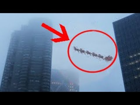 Top 7 Santa Claus Caught On Camera & Spotted In Real Life