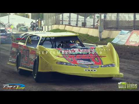2019 DiscountShopTowels.com 30 Dirt Kings Tour race at Plymouth Dirt Track Racing at the Sheboygan County Fairgrounds. - dirt track racing video image