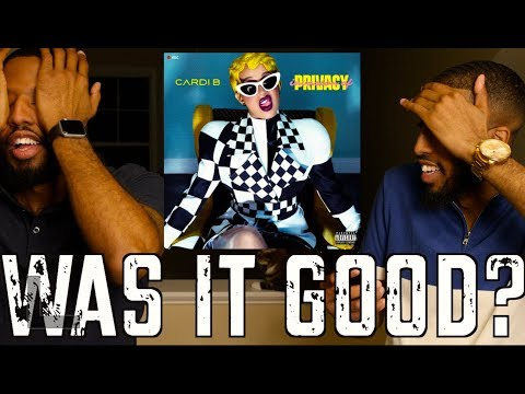"CARDI B ""INVASION OF PRIVACY"" REVIEW AND REACTION #MALLORYBROS"