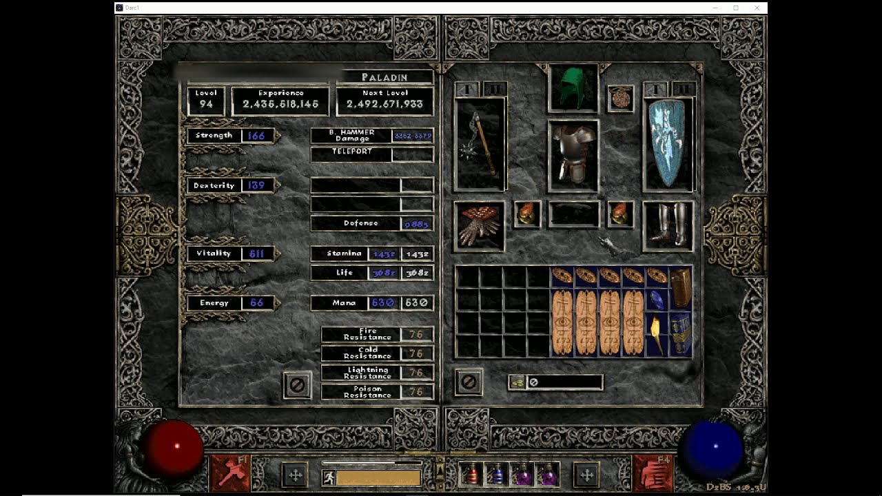 Kolbot Build Suggestion: Hammer Paladin