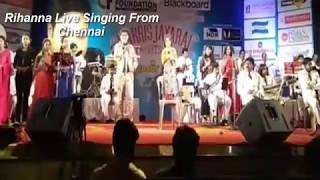 Rihanna Live Singing From Chennai 2018 Show Video