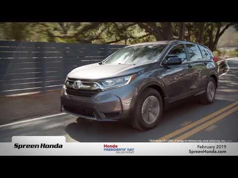 2019 Honda CR-V FWD LX - Spreen Honda (Presidents' Day Specials)