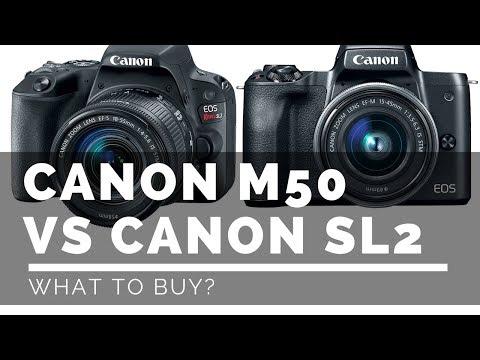 Canon M50 vs Canon SL2 - What Should I Buy?