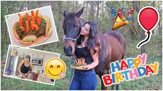 Making A BIRTHDAY CAKE For My HORSE! | VLOG