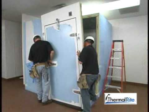 Thermalrite Walk In Cooler Installation Video Youtube