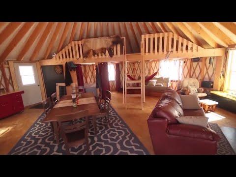 Montana Made: Shelter Designs Yurts