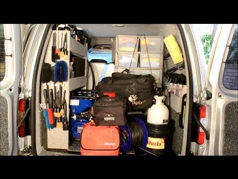 Mobile Detailing & Valeting FULL Van Setup/Tour!