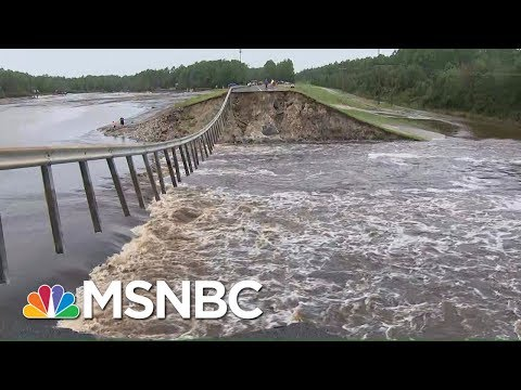 North Carolina Dam Collapses Due To Hurricane Florence Floodwaters | Hallie Jackson | MSNBC