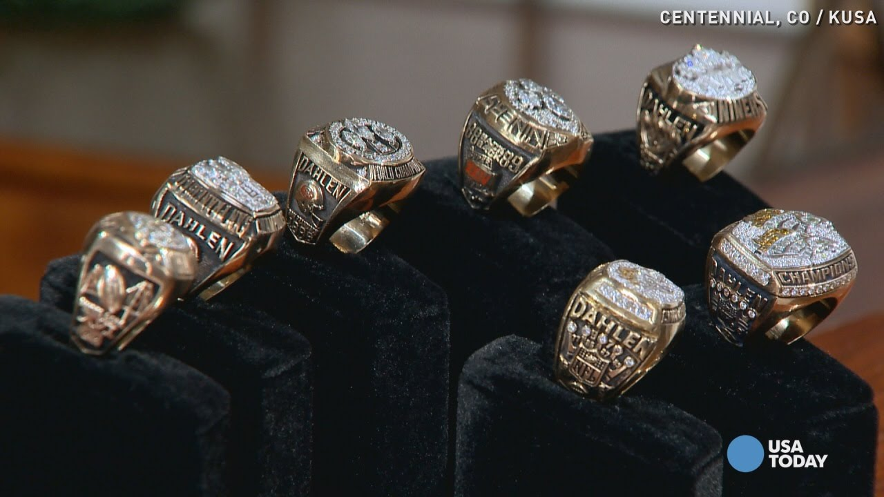 rings bowl how history past has display in they most on super started who and time nfl the
