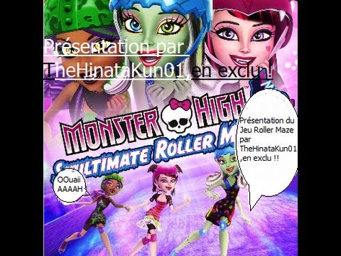 monster high pr sentation du jeu skultimate roller maze sur wii youtube. Black Bedroom Furniture Sets. Home Design Ideas