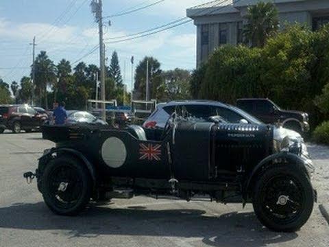 Ac Dc Brian Johnson S 1928 Bentley Vanden Plas Le Mans Tourer Thunder Guts Misskellytv Youtube
