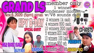 HAPPY GRAND BIRTHDAY LIVE STREAM |WIN AMAZING PRIZES GCASH/LOAD AND WH