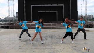 [KIOPL] Seoul Gangnam Street Dance Practice Movie -  Love On Top
