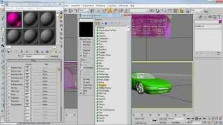 3Ds Max - Стандартные автомобили gta. Урок 1