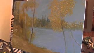 Осень  Игорь Сахаров  Живопись маслом 2