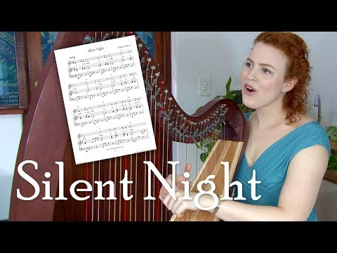 Silent Night – easy HARP/VOICE (Christy-Lyn)
