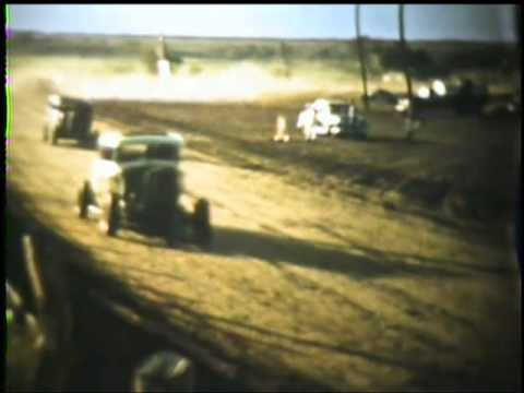 Neodesha Kansas Twin Valley Amusement Park Stock Car Races 1956