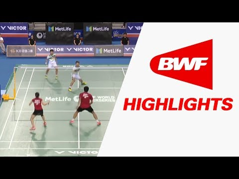 Victor Korea Open 2017 | Badminton F – Highlights