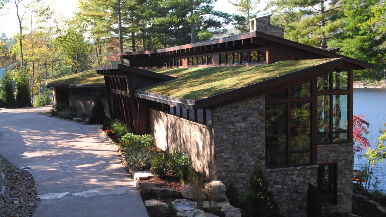 Private Lake Toxaway Nc Residence Green Roof Project Of