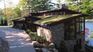 Private Lake Toxaway, NC Residence Green Roof - Project of the Week 9/8/14
