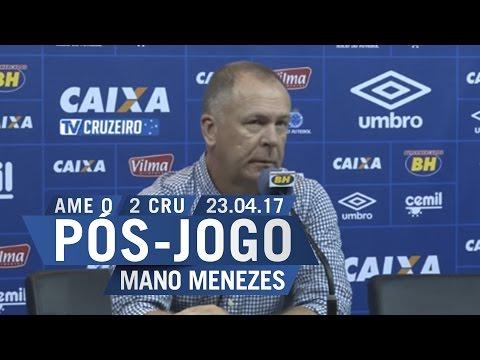 23/04/2017 - Pós-Jogo - Coletiva Téc....