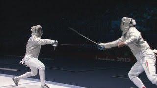 Aron Szilagyi Szilagyi Wins Fencing Sabre Gold - London 2012 Olympics