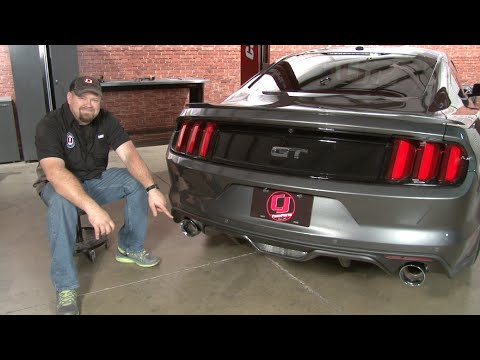 2015-2017 Mustang GT MagnaFlow Competition Series Cat-Back Installation