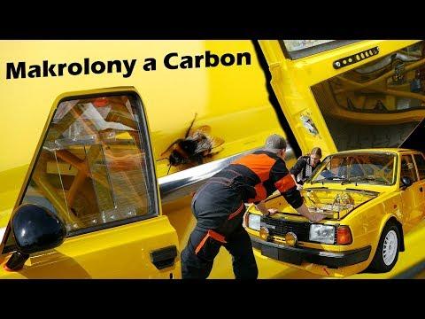 Odhalení Makrolonů, Carbon na Dveřích :) BEZ KOMPRESE (: Vilda vlog_25 Škoda 130