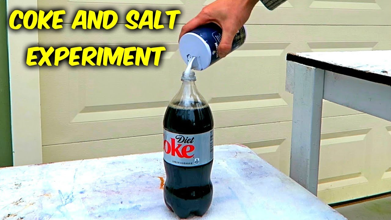 what will happen if you mix coke and salt youtube. Black Bedroom Furniture Sets. Home Design Ideas