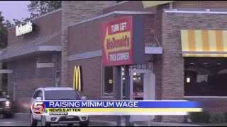 News 5 at 10 - Local group fighting to get minimum wage increase on the ballot / June 9, 2014