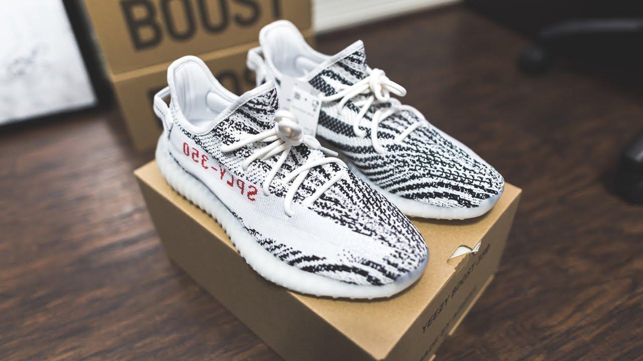4th Restock: 2019 Yeezy Zebra (Not A