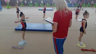 Сдача нормативов, ГНП 2, художественная гимнастика.