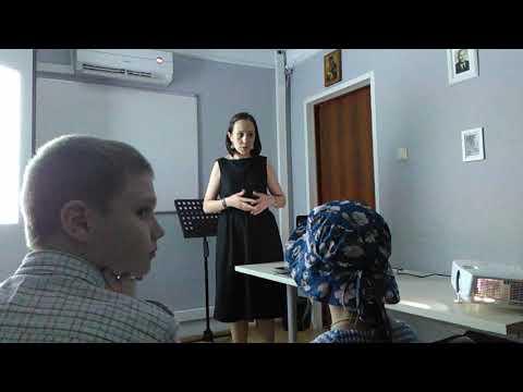 Смотреть Лекция про византийское пение. Ирина Старикова ч.2 онлайн