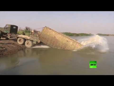القوات السورية تعبر إلى الضفة الشرقية للفرات