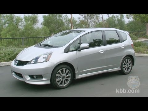 2011 honda fit review kelley blue book youtube. Black Bedroom Furniture Sets. Home Design Ideas