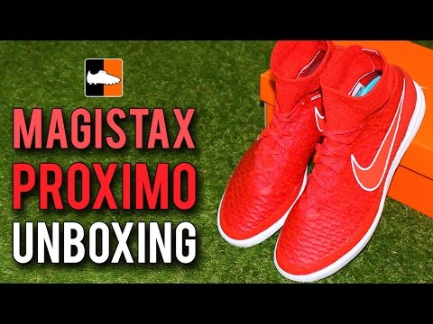 Nike MagistaX Proximo Unboxing - Chilling Red/Bright Crimson/White Edition