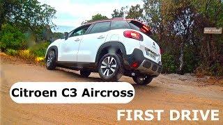 Citroen C3 Aircross 1.6 BlueHDI 120, first drive
