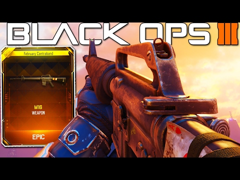"""NEW """"M16 GAMEPLAY"""" in Black Ops 3! (NEW DLC WEAPONS)"""