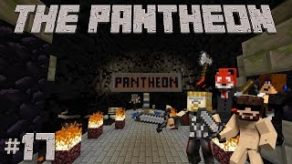 Minecraft The Pantheon #17 - With Russ,Kitt and Thor (Tree of Doom)
