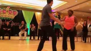 Hugo Miguez & Lauren Hubbard 3rd Place Invitational Jack & Jill Dance Mardi Gras 2014