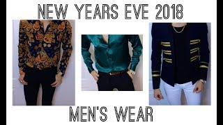 New Years Eve Clothing Haul | Try On (Pre 2018) Men