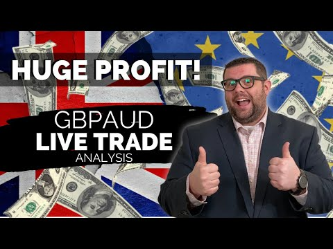 LIVE FOREX TRADING - FOREX GBPAUD - HUGE PROFITS!