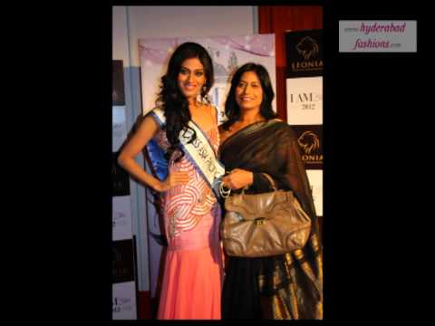 Miss Asia Pacific 2012 Himangini Singh Yadav at I AM SHE Grand Finale 2012 in Hyderabad