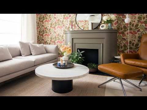 House Tour: Bold & Colorful Small Home Makeover