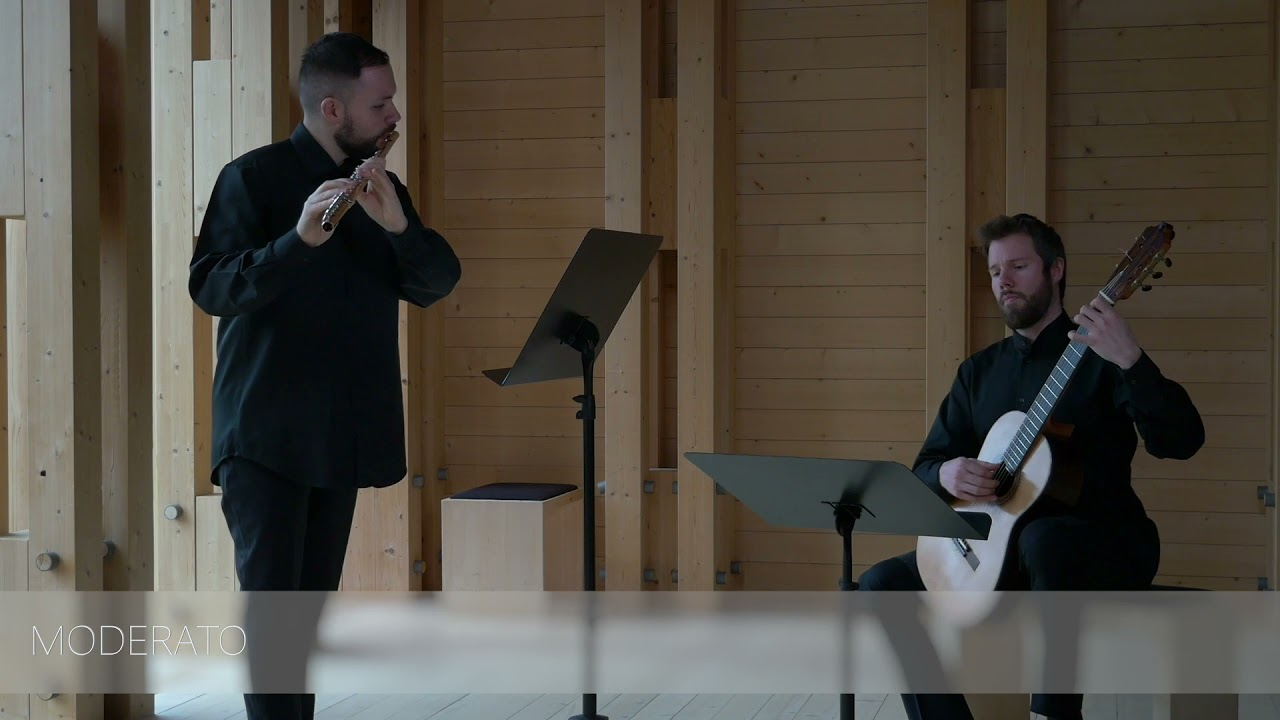 Michele Esposito - 4 Sketches, op. 30 Robert Tobin and Jonne Grans