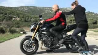 Σωστή θέση συνοδηγού μοτοσυκλέτας