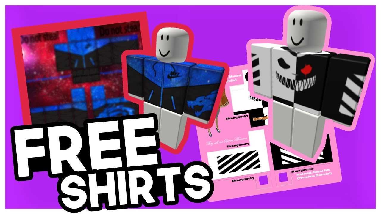 Roblox How To Get Any Roblox Shirt Design For Free 2020 Youtube