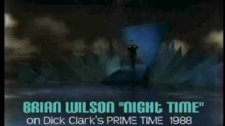 "BRIAN WILSON performs ""Night Time"" Live 1988"